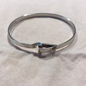 Tiffany & Co. hook and eye bracelet